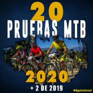 Calendario 20 pruebas MTB 2020