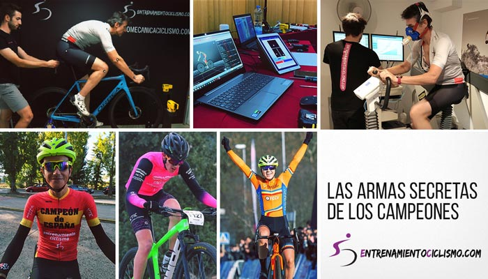 Entrenamiento Ciclismo - Las armas secretas: biomecánica, prueba de esfuezo, entrenamiento
